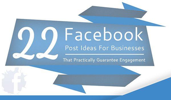 22 facebook post ideas that practically guarantee likes for Design ideas facebook
