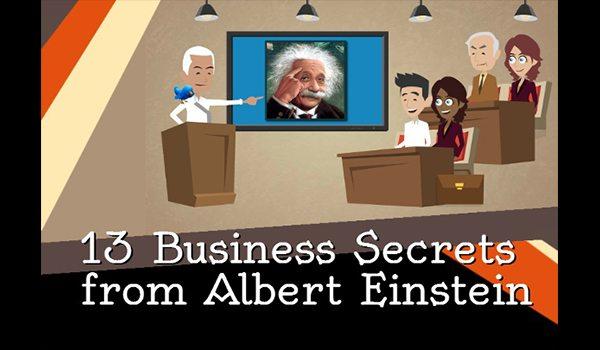 Work Smarter! 13 Business Secrets From Albert Einstein