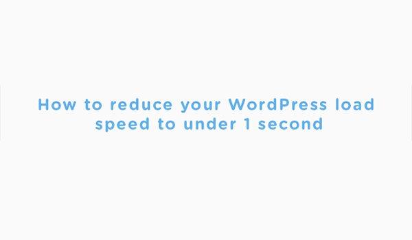 How to Increase WordPress Website Speed - Infographic
